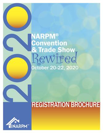 NARPM Convention registration brochure