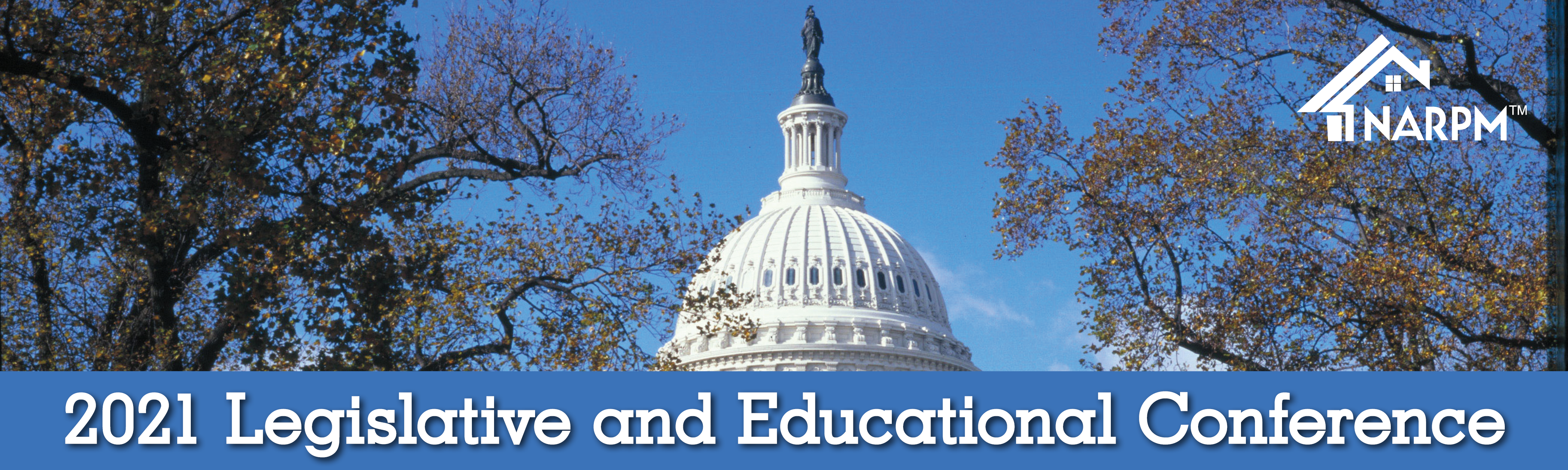 2021 Legislative and Education Conference banner
