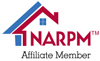 NARPM Affiliate Maroon Full<br /> Logo