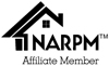 NARPM Black Affiliate Full Logo