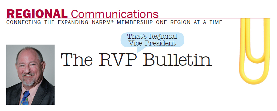 Greetings from the rvp of the southwest region of narpm greetings from the southwest region i am extremely happy to have been elected to another two year term and excited to see the many great things happening m4hsunfo